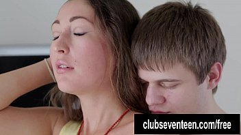 Teen Helena suck and fuck cock for cum