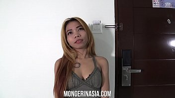 Super Skinny Blonde Asian Maid Lets Her Boss Knock Her Up thumbnail