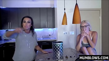 Mother And Sister Fuck With Son