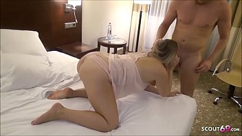 GERMAN BBW TEEN AT PRIVAT MMF THREESOME FUCK AFTER COLLEGE