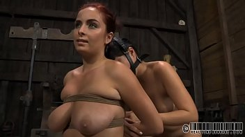 Masked gal is f. to take up with the tongue master's hard boots