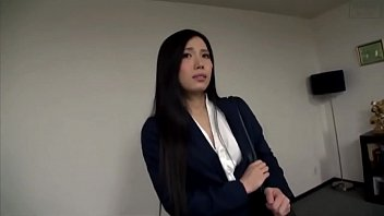 Asian Secretary in Pantyhose and High Heels Molested