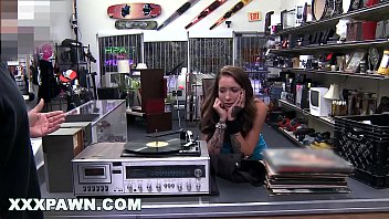 XXX PAWN - Beautiful Rocker Chick Came To My Shop With A Crate Full Of Vinyl