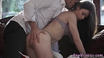 Anal loving beauty riding lovers dick