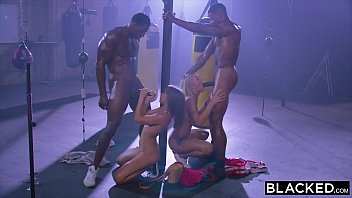 Image: BLACKED Riley Reid Gets DP'd By Two Bulls