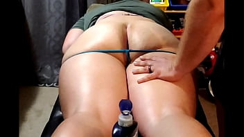 Wifes 55 inch Ass is too much fir husband to handle