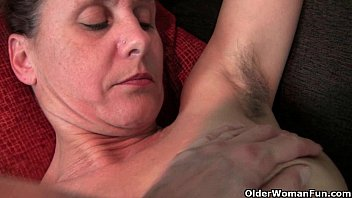 Hairy freia - Hairy granny with hard nipples