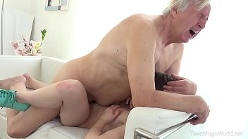 Old-n-Young.comLuna RivalOld man makes sweetie kneel