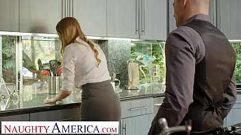 Naughty America Real Estate agent Bunny Colby does what it takes to close
