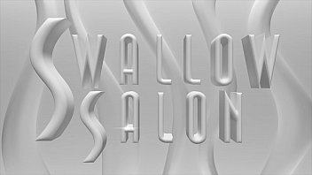 FIONA SPROUTS STIMULATES CLIENT ORALLY AT SWALLOW SALON