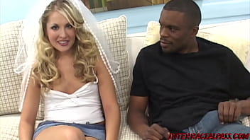 Chelsea Rae, lets her fiancé watch this Black Dude have his way