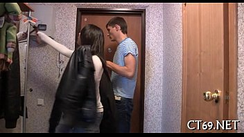 Teen wench gets drilled hard