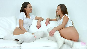 Lesbians Amirah Adara and Suzy Rainbow in Truth or dare by SapphiX