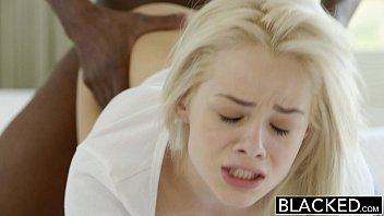 Sexy black girls in jeans - Blacked elsa jean takes her first bbc