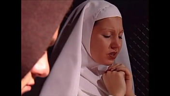 Young nun Lady Rox fucked by monk