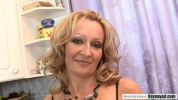 Hungarian MILF Takes BBC Anally In The Kitchen