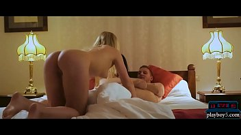 Hot ass blonde joins couple for an amazing threesome