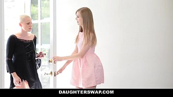 DaughterSwap - Goth Cutie (Dolly Leigh) (Riley Nixon) Fucked by Older Guys