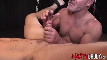 """NASTYDADDY Dale Savage Fists Hairy Jock And Blows His Cock <span class=""""duration"""">8 min</span>"""