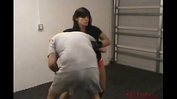 A Hard MMA Beating - Furious and Painful Blows from Mikaela