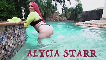 Streaming Video BANGBROS - Thicc PAWG Alycia Starr Compilation: Can You Handle All This Ass? - XLXX.video