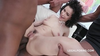 Waka Waka Blacks are Coming, Stacy Bloom Vs 4 BBC with Balls Deep Anal, DAP, Gapes, Swallow GIO1391