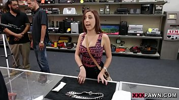 Crazy latina give up the ass for cash