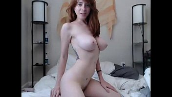 Redhead having orgasms in live! - annasexcam.com
