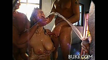Pissing pussies clips Slave gets pissing from dominant