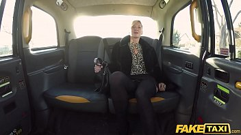 Fake Taxi Horny British blonde MILF swaps shops for cock