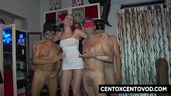 Sissy Neri's GangBang! The CentoXCento in Florence 10 min
