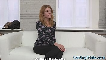 Doggystyle screwed babe banged at casting