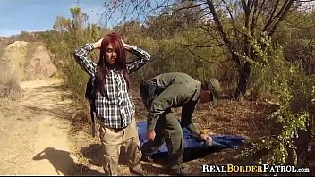 Cum filled forced hitch hiker Helpless mexican hitch-hiker punished fucking