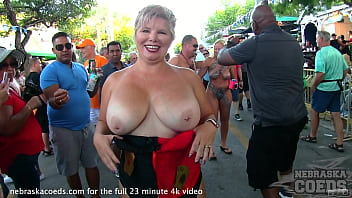 last day and night of fantasy fest from key west florida hot girls naked in the streets