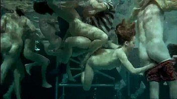 Vintage railroad crossing signs - Underwater orgy - in the sign of the virgin 1973 sex scene 7