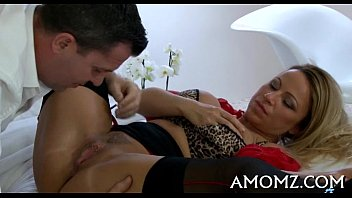 Mamma acquires her anal creampied