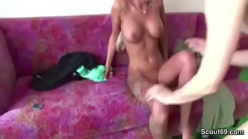 Daddy Seduce Young German Teen with Big Tits to Fuck thumbnail