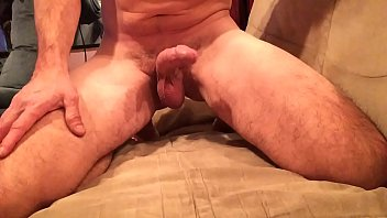 Squirting Cum On My Couch