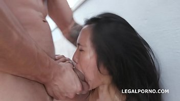 Manhandle May Thai goes Rough with Balls Deep Anal, Gapes, DAP, Facial GIO1177 porn image