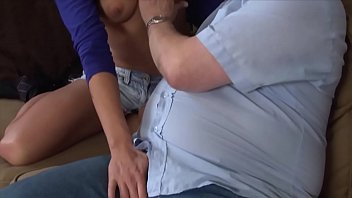 German old and young couple having some sex