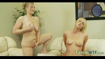 Mom and daughter threesome 0412