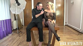 The Romanian Blonde Big Boobed Bimbo Rebeca Cerrera Gets Completely Busted By Dieter Von Stein Who Fucks Her Hard And Rough (Including Scene Interviews)