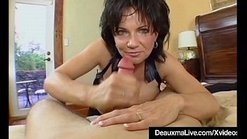 Mature Milf Deauxma Has Big Squirting Orgasm With Boy Toy ...