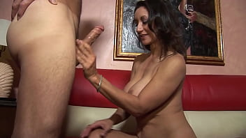Epic brunette milf takes a nice cock insider her pussy 12 min