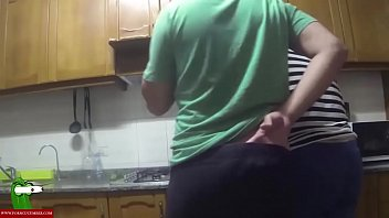 Making A Salad And Fucking In The Kitchen. San224