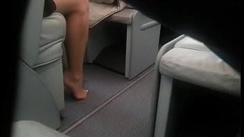 Cams4free.net – Candid Delicious Feet in Business Class