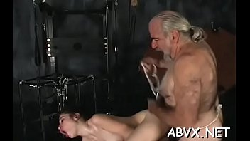 Naked chicks roughly playing in bondage xxx amateur clip scene