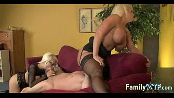 Mom and daughter threesome 0003