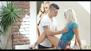 Ambitious barely legal Naomi Nevena gets shaved cunt fucked