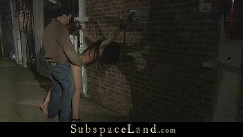 Enslaved teenie ruthlessly humiliated and used preview image